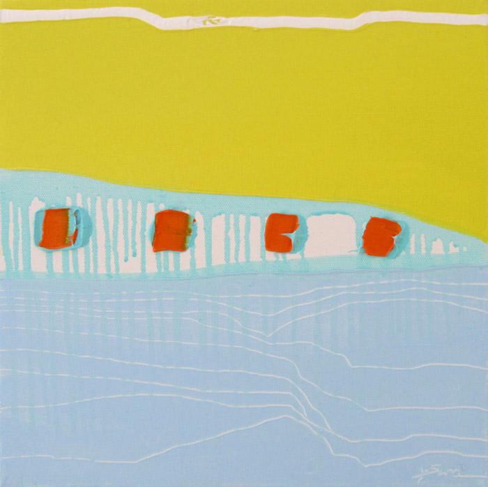 San Francisco Abstract Paintings | Sleeping Beauties